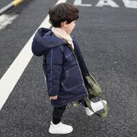 童装男童冬装棉衣2018新款韩版宝宝棉袄儿童中长款冬季棉服外套潮