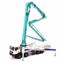 合金工程车模混凝土泵车儿童玩具汽车模型