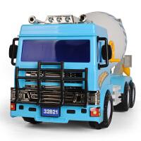 大号混凝土搅拌车模型水泥罐车惯性泥土工程车男童儿童玩具车男孩