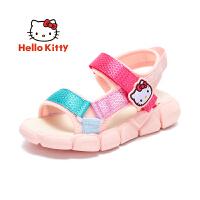 【3折价:98.7元】HELLOKITTY 童鞋女童凉鞋 2020夏季新款女孩露趾透气休闲凉鞋K0525922