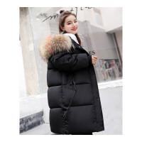 冬季羽绒棉衣女新款韩版加厚外套宽松面包服中长款棉袄女
