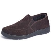 老北京布鞋男冬季老人鞋保暖棉鞋子加绒加厚中老年爸爸鞋男鞋