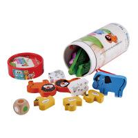 jadore动物叠叠高3岁以上儿童益智玩具Hape子品牌