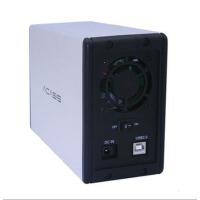阿卡西斯 CA-03两盘位硬盘盒SATA-USB2.0支持2个2TB硬盘