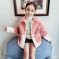 中大童风衣儿童冬季韩版加厚派克服2019新款洋气冬装上衣女童外套