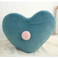 【2件5折】毛绒玩具 新年礼物 予米艺 新品ins星星月亮抱枕床头靠垫皇冠飘窗装饰沙发靠枕毛绒玩具定制 爱心绿色