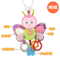 婴儿 床铃 婴儿横杆式车挂床挂宝宝摇铃婴儿床挂床头铃带牙胶响纸玩具