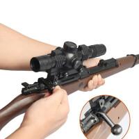 黄河吃鸡98k散弹枪S1897来复喷子6mm水弹软胶弹手动塑料玩具枪模六一儿童节礼物 标准配置