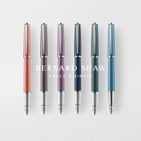 萧伯纳星耀系列钢笔男女士高档商务办公*老师学生用练字钢笔商务礼品笔