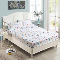 床笠单件全棉全棉1.8m米床防滑保护套防尘罩床垫套席梦思床罩定制