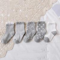 儿童袜子秋冬春秋季薄款中筒可爱男童男孩女童中大童宝宝婴儿