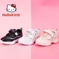 【到手价:109元】HelloKitty凯蒂猫童鞋女童鞋2019秋冬新款运动鞋女孩学生小白鞋休闲鞋K9543801