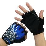 运动骑行防滑手套薄款露指户外战术健身半指手套