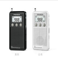【包邮】熊猫 6204全波段收音机老人插卡迷你小型收音机充电mp3外放 6204【黑色】