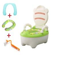 儿童坐便器加大号抽屉式女小孩尿盆 婴幼儿男便盆 宝宝马桶座便器 +1布垫+1软垫