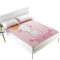 婴儿隔尿垫号水可洗儿童漏床单床笠床罩季定制 大号
