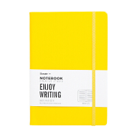 广博(GuangBo)120张A5笔记本子/记事本/个性办公用品 黄色GBP20001当当自营