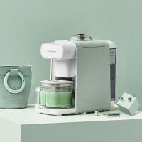 九阳(Joyoung)全自动豆浆机免洗破壁家用免滤多功能立体加热预约咖啡机DJ06R-Kmini青