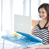 多功能笔记本床上可爱折叠电脑桌子笔记本散热架子 JJQ09