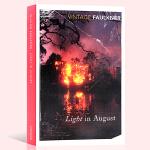 英文原版小说 八月之光 Light In August Vintage Classics William Faulkn