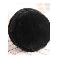 耳套女保暖耳罩可折叠创意汉堡耳包男冬季可伸缩毛绒冬天耳捂耳暖