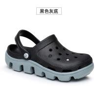 夏季洞洞鞋女韩版学生可爱休闲沙滩鞋百搭沙滩凉鞋女拖鞋