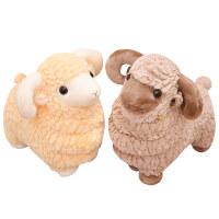 草泥羊公仔绵羊山羊小羊驼毛绒玩具布娃娃玩偶抱枕生日礼物女友