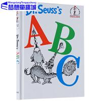Dr Seuss s ABC 廖彩杏书单 dr seuss系列 苏斯博士英文原版绘本 英文儿童读物