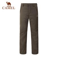 camel骆驼户外冲锋裤 男士新款优质休闲防风防水冲锋裤长裤
