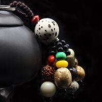 汽车钥匙挂件饰品男生日礼物菩提子包包创意扣情侣挂饰圈链