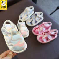 1-3岁男宝宝学步鞋婴儿软底儿童布鞋宝宝手工布凉鞋