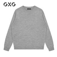 【特价】GXG男装 2021春季多色低领毛衫GY120147GV