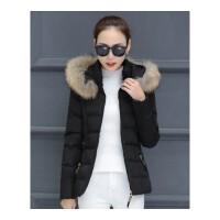棉衣女短款新款冬季大码百搭韩版修身棉袄加厚羽绒外套潮