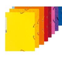 好吉森鹤/666好品质 400G纸板 A4 橡筋文件夹 文件管理 容纳200张A4纸/彩色硬纸板文件盒/文件夹/多款颜