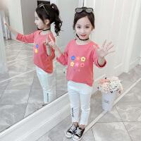 儿童上衣长袖卫衣2019秋季新款韩版童装洋气打底衫
