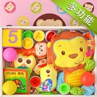 20181114045432976婴儿毛绒玩具礼盒 新生儿满月百天0-1岁宝宝生日周岁玩具套装