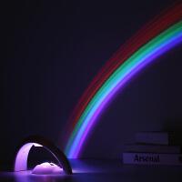 彩虹投影灯 浪漫星空投影机 LED灯饰小夜灯投影仪 创意礼品礼品物