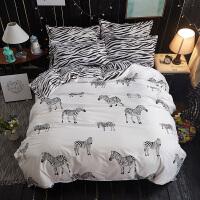 �稳巳�件套大�W生宿舍床上用品被罩枕套上下�1.5m1.2米床�伪惶�2 白色 n�凵邪唏R