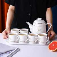 茶具套装陶瓷茶壶茶杯北欧式泡茶器家用耐高温水壶客厅简约水具