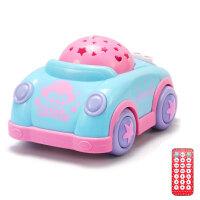 婴幼儿早教1200内容 星空投影助眠 故事机带遥控安抚小汽车 冬已遥控安抚汽车蓝色(opp)