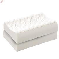新品泰国乳胶枕头一对护颈枕芯颈椎枕天然橡胶记忆枕单双人定制
