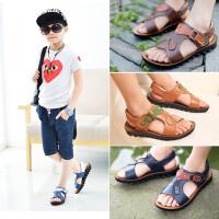 2019夏季新款韩版男童凉鞋小中大童男孩童鞋宝宝儿童沙滩鞋