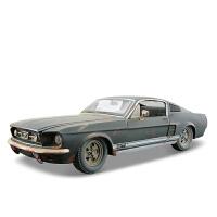 1:24福特野马合金汽车模型做旧仿真车模摆件