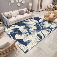 地毯客厅沙发茶几垫中国风家用卧室房间满铺可爱加厚床边毯图案卧室新型垫子清新实用方形进门地面长条冬天