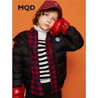 MQD童装男女童轻薄羽绒服保暖外套2019冬新款儿童