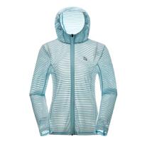 【一件3折】探路者跑步外套2019春夏新款户外女式轻薄透气跑步外套KAEH82498