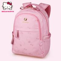 HelloKitty凯蒂猫 KT1136粉红 儿童书包 小学生书包 女童韩版3-6年级减负护脊书包