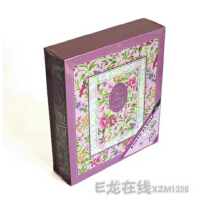 花卉相册 4R/6寸相册 200张盒装影集 6206 B款
