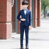 儿童西装套装秋冬花童礼服中大童钢琴礼服男童小西服小孩英伦帅气