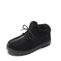 冬季棉鞋雪地靴中老年韩版女鞋保暖加绒老北京布鞋休闲鞋水